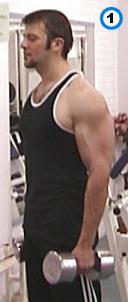 fitness-oefening alternate standing curls-1