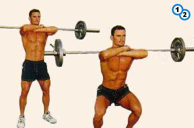 fitness-oefening balance squats-1