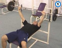 fitness-oefening bench press-1