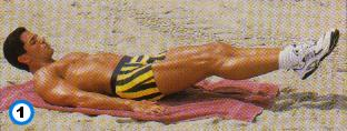 fitness-oefening bent-leg raises-1