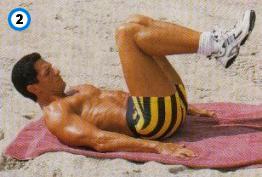 fitness-oefening bent-leg raises-2