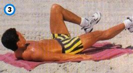fitness-oefening bent-leg scissor kicks-3