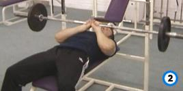 fitness-oefening close-grip bench presses-2