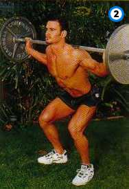 fitness-oefening flat-footed squats-2