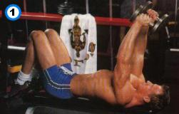fitness-oefening lying dumbbell extensions-1