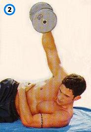 fitness-oefening lying lateral raises-2