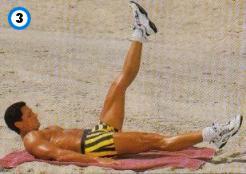 fitness-oefening one-leg straight raises-3