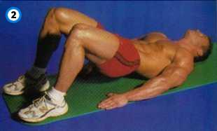 fitness-oefening pelvic tilt-2