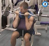 fitness-oefening preacher curl-2