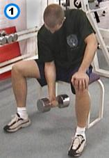 fitness-oefening seated concentration curls-1