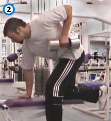 fitness-oefening single-arm rows-2