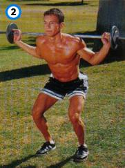 fitness-oefening standing squats-2